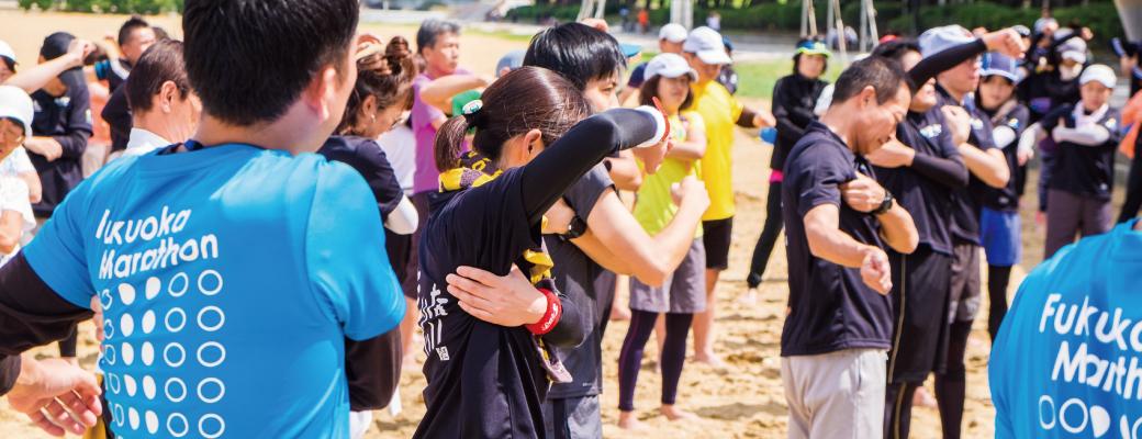 福岡マラソン2018 『FirstStepプロジェクト』イベント //  楽しく完走できる秘訣