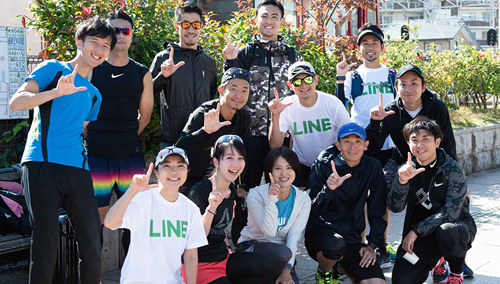 福岡マラソンチャレンジチーム // みんなで繋がる駆ける想い //  effect RUN TEAM